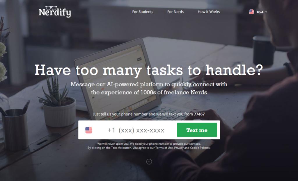 GoNerdify.com Main Page