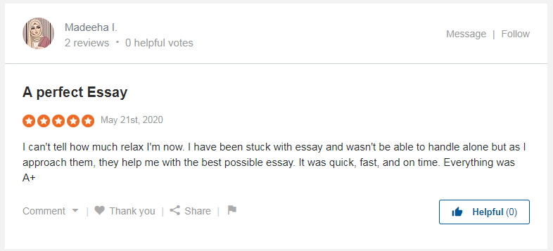 5-star review on Sitejabber, admitting the work was quick, fast and on time :D
