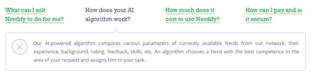 How their AI algorithm works