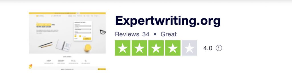 Site page at Trustpilot