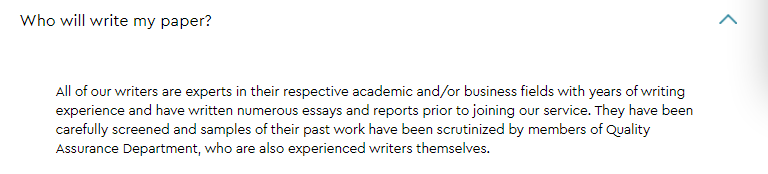 Note about writers