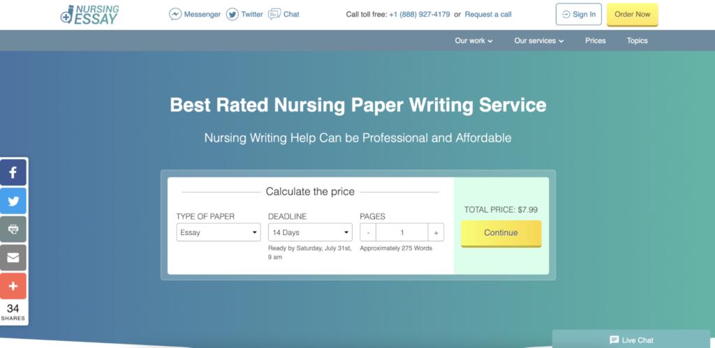 NursingEssayWriting.online main page